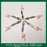 doubling machine ceramic yarn guide parts   ceramic pigtail   Pottery Threading mouthCG-1001-1  in stock