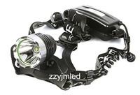 Headlamp Bike Light CREE XM-L T6 LED Headlamp  Rechargeable 2x 18650 Lamp Light Charger