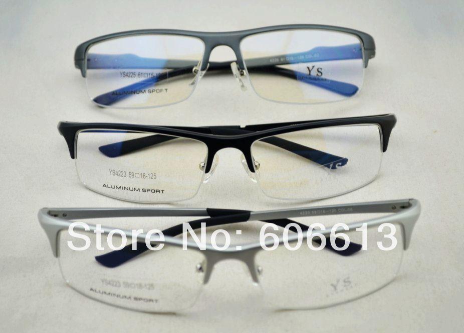 High-Quality-Aluminum-Optical-Glasses-Frame-Half-frame ...