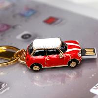 Wholeseller Special mini cooper style Car key usb flash drive 32gb usb gift stocking bulk!