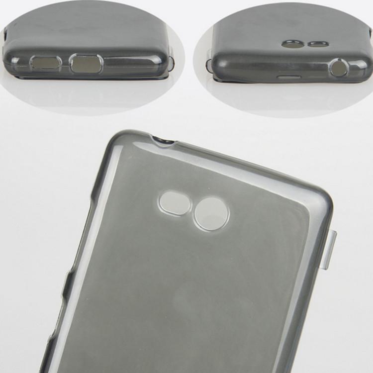 High Quaility Soft TPU Case covers For Nokia Lumia 820 n820 Flip Cover lumia 820 Transparent Gel cases(China (Mainland))