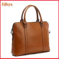 Wholesale Handbag Wax Cowhide Work Bag Portable Laptop Bags Woman Genuine Leather Handbag Women's Motorcycle Bag