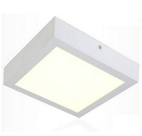 Free shipping 18W LED Surface Ceiling light AC85V-265V Kitchen light Square type Surface mounted SMD2835