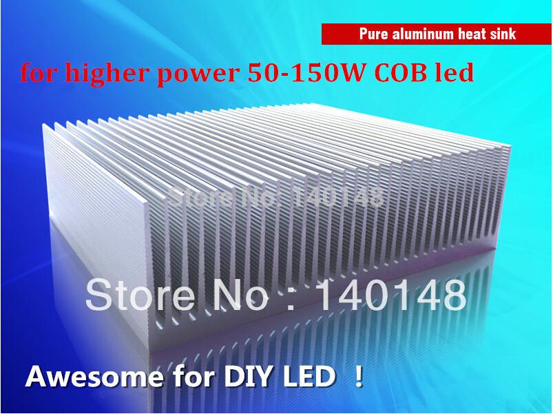 Aluminum Heat sink cooling system 50-150w high power led radiator led cooling fan DIY led lighting system(China (Mainland))