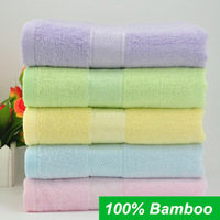 Hot sale Bamboo Fiber Bath Towel Bulk Beach towel Spa Salon Wraps Terry Towels beauty cheap bulk towel toalha 8115