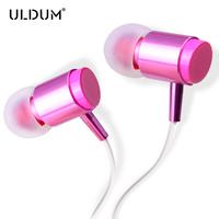 ULDUM women like lipstick earphone women headphone must be equipped with