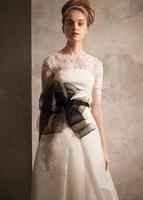 2014 Gossip.H All size Personal custom New arrival princess tube top sleeves lace vintage mermaid wedding dress vestido de noiva