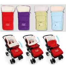 Winter thick winderproof Newborn Envelope Baby Sleeping Bags for Children Sleepsacks for Stroller infant Fleabag baby blanket(China (Mainland))