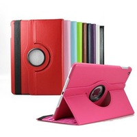 1PC Case For iPad Air iPad 5 Case,Luxury 360 Rotating PU Leather Case For Apple ipad 5 Free Shipping