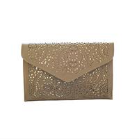 2014 Casual 2013 vintage national women's trend handbag cutout envelope bag day clutch bag shoulder bag cross-body bag
