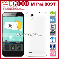 New Arrival M Pai 809T MTK6582 1.3Gz Quad Core Smartphone 1GB RAM 4GB ROM Android 4.3 OS 5.0 Inch 1920*720 IPS 8.0MP Camera