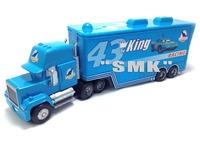 Free shipping,blue No.43 Mack truck,100% Original Pixar Cars 2 Movies alloy model cars,Children's toy cars,CAR03