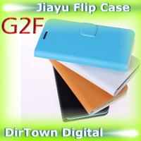 China New Year Sale Original Jiayu G2F Flip Case PU Material