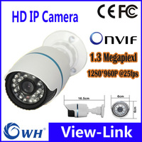 VIEW-LINK 960P 1.3MP Mini Bullet IP Camera ONVIF 2.0 Waterproof Outdoor IR CUT Night Vision P2P Plug and Play