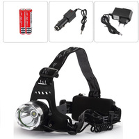 CREE XML XM-L T6 LED Bike Bicycle Head Light Lamp Headlamp Headlight for Hunting Camping