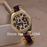 JW481 Leopard Print Watches New Brand Watch Self-wind Mechanical Military Men Full Steel Watch Army Sports