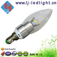 Wholesale e14 led candle lighting 3W 4W 5W with CE Rohs FCC