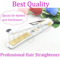 "360 ROTATING 1"" Professional Vibrate Plate Titanium Wrist-Protect brazilian Hair Straightening Flat Iron 470 F Hair Straightener"