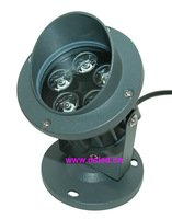 high power,good quality, IP65 5W  LED outdoor spotlight DS-06-47,5X1W,110-250VAC,Warmwhite,white,blue,green,red,amber