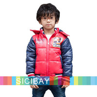 Winter New Arrival kids down & parkas Boys Down Outerwear Children Fashion Coats Warm Overcoats Free Shipping K4213