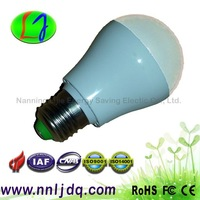 Wholesale warm white/white e27 led bulb 3W 4W 5W with CE Rohs FCC