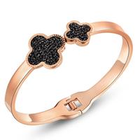 Black  clover bracelet