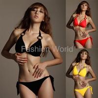 free shipping brand fashion new women's wrapped chest bikini swimsuit sexy multicolor multi-code ladies swimwear clothes