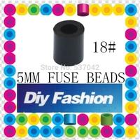 500 pcs Black 5 mm Hama Beads/ Perler Beads *GREAT KID FUN.Diy Intelligence Educational Toys Craft