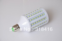 E27 SMD 5630 LED Corn Bulb Lamp 102LED 18w AC 220v 2250LM Warm White / Cold White For Living Room 10PCS/LOT + Free Shipping