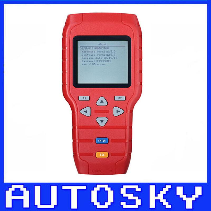X-100 + Auto programador chave X100 X 100 ferramenta profissional de diagnóstico X100 mais taxa de envio livre(China (Mainland))