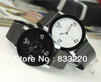 New 2013 Gift Concisemen Quartz Watch Men Sports Watches  Casual Watch Leather Strap Watches Sports Watch Women