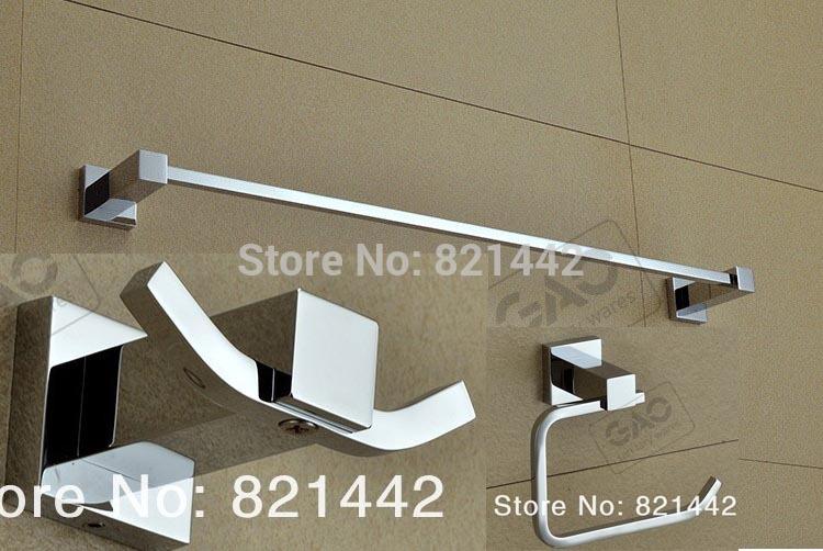 Toilet Paper Holder Banheiro Acessorio Para Em Bronze Bathroom Accessories Set Robe Hook,paper Holder,single Towel Bar 3 Pcs/set(China (Mainland))