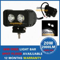 2 PCS 5.5INCH 20W Cree LED Offroad Light BAR Spot Flood Beam LED Work Light 12V 4WD Boat UTE 12V 24V Free Shipping