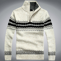 sweater dresses new fashion 2013 leather sweater cheap men's cardigans Collar Turtleneck Sweater Freeshipping