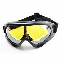 WOLFBIKE UV Protection Winter Sports Ski Snowboard Skate Goggles Glasses Motorcycle Skiing Goggle Glasses Eyewear Sunglasses