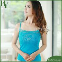 T004 Free Shipping Wholesale Women Camis Lace Korean Summer New Diamond Camisole Sleeveless Shirts