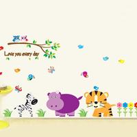 160*85cm Kindergarten Decorative Wall Stickers For Children Kids Room 3D Wallpapers Nursery Wall Decals Home Bedrooom Decor