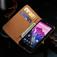 Nexus5 Genuine Leather Wallet Stand Case For LG Google Nexus 5 E980 D820 D821 Phone Bag with Card holder