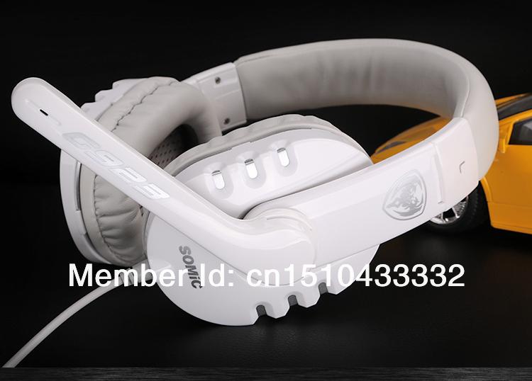 наушники с микрофоном для телефона Somic G923 компьютера 71 моды