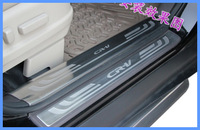 High quality #304 stailness steel For Honda CRV 2012  8pcs door plate/door bar(4pcs outside and 4pcs inside)