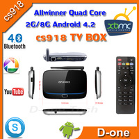 Android TV Box RK3188 Quad Core Mini PC RJ-45 USB WiFi XBMC  MK883 (CS918)  Smart TV Media Player