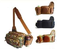 2015 New Arrival 3Colors Multi-Purpose 3-Layer Waterproof Fishing Bag Brand Fishing Waist Bag for Men Casual Men's Crossbody Bag