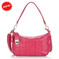 New Arrival Korea Fashion Rose Women Shoulder Bag 100% Genuine Cow Leather Big Capacity Design Small Messenger Bags,ANS-BL-109