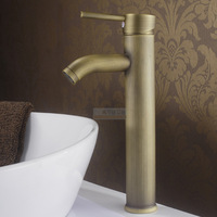 Apparato copper single platform basin hot and cold faucet antique wash basin