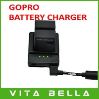 New Arrival Multi-Input-Dual-Charging Dual 2 Battery USB Charger for Go Pro Gopro AHDBT 301 AHDBT-301 AHDBT301/201 Accessories