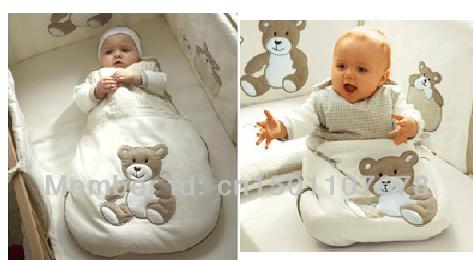 100% Cotton Spring Summer Autumn Newborn Baby Kid Sleeping Bag, Brand Child Animal Vest Sleepsacks, Free Shipping(China (Mainland))