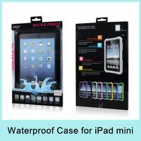 iPega Transparent Waterproof Case for iPad mini PG-IPM006 Rainproof Snowproof 6 Colors Drop Shipping