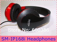 Quality Headphones SM-IP168i Headsets Microphone For Android Phone/Computer Free Shipping