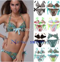 Bikini Swimwear push up Women 2014 new Swimsuit  Drop Shipping Good Quality gift