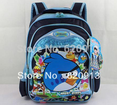 Angry bird school backpack children bags(China (Mainland))